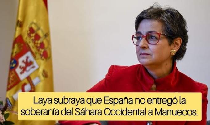 Laya abandona Exteriores de España, pero dejó algunas declaraciones que hay que reflexionar.