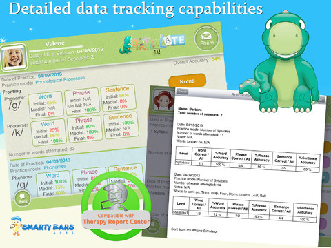 Articulate It Data Tracking