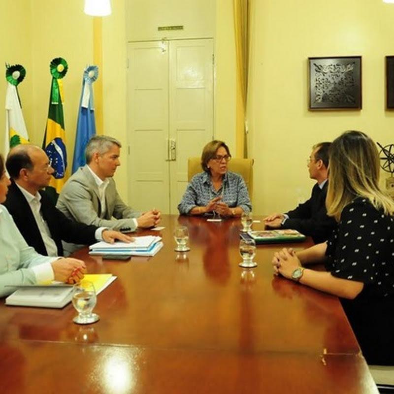 Prefeitura recebe visita da equipe do CIEE
