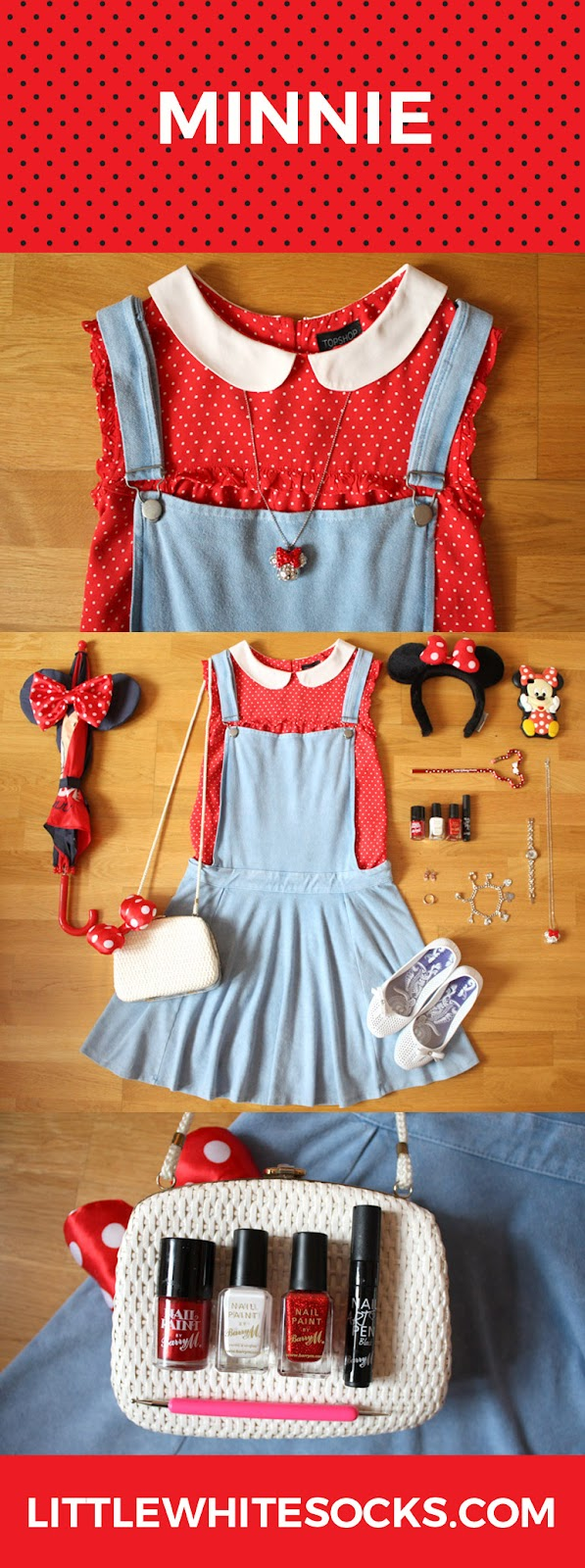 minnie mouse inspired fashion outfit