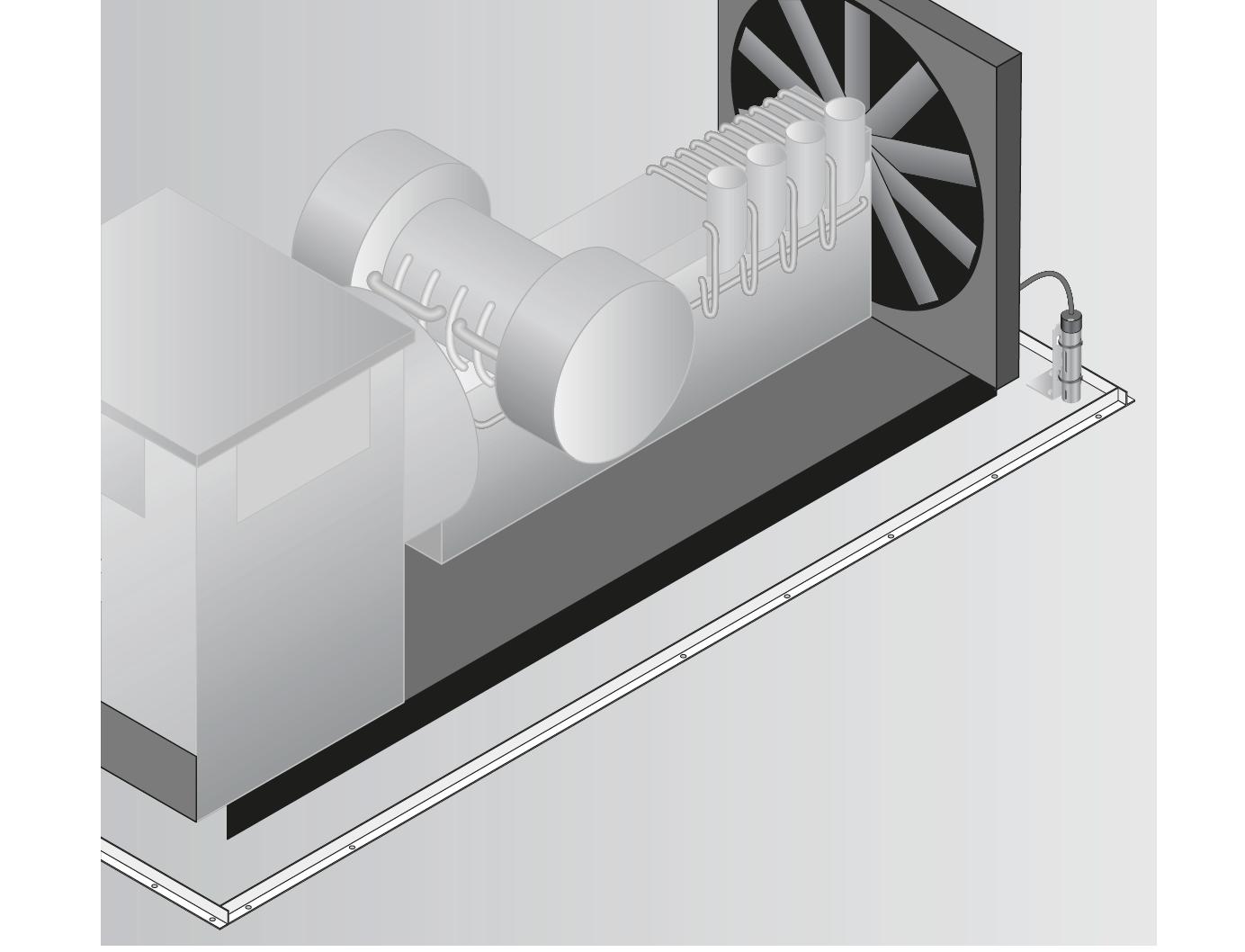 Sygnalizacja wycieku paliwa z generatora, agregatu prądotwórczego