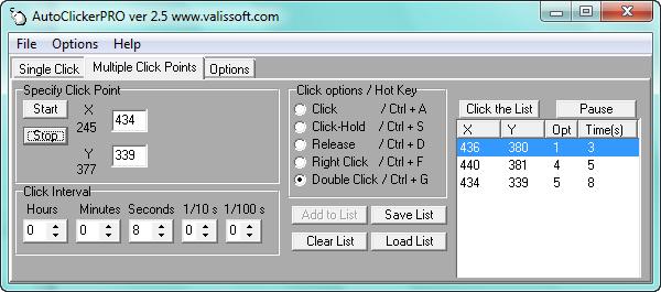 Hướng dẫn Auto click chuột nhiều vị trí bất kỳ trên máy tính