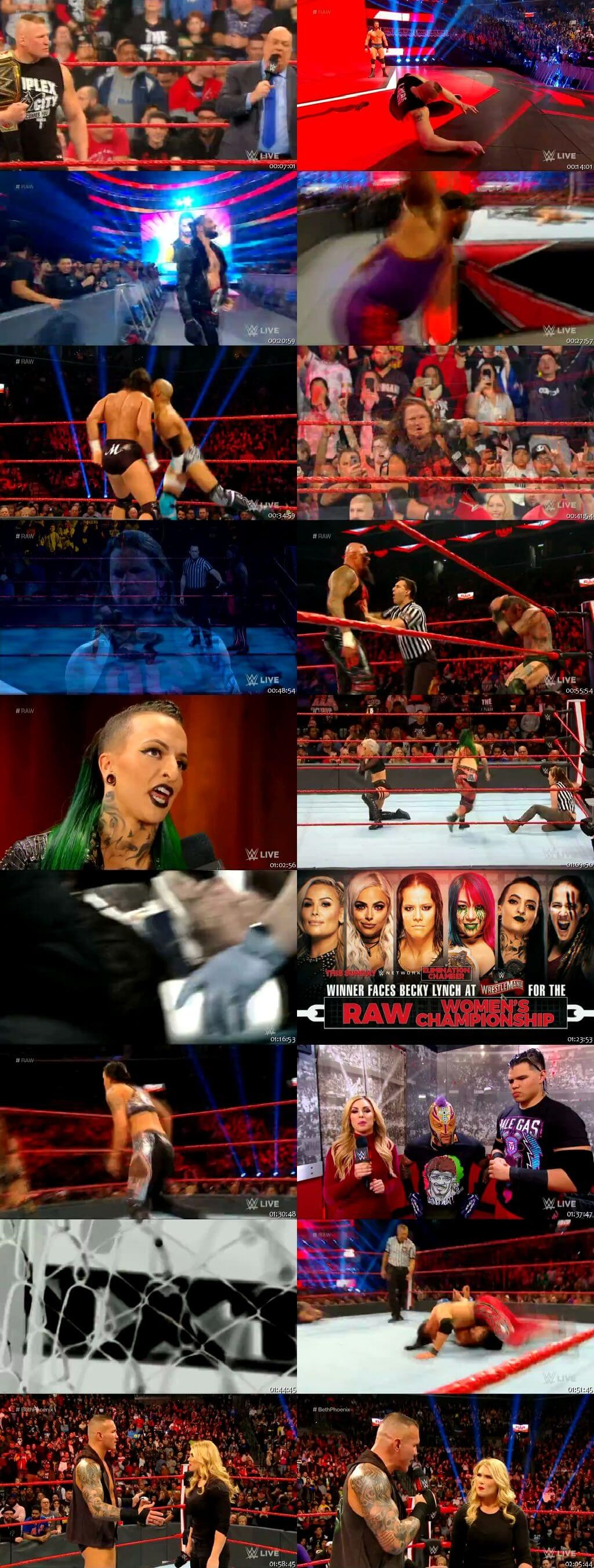 Screen Shot Of Wrestling TV Show WWE Monday Night Raw 2nd March Watch Online Free Download