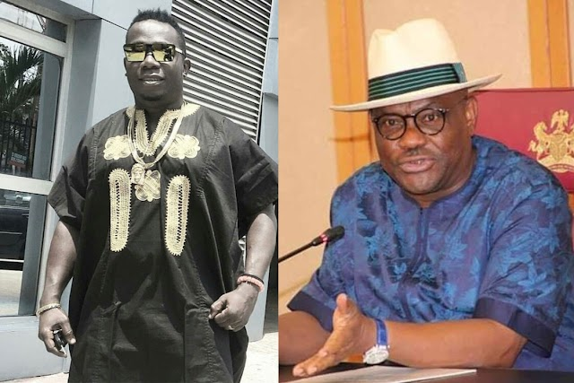 "MY GBOLA DON RISE"" – DUNCAN MIGHTY CONFIRMS ALERT OF N10 MILLION FROM GOVERNOR WIKE"