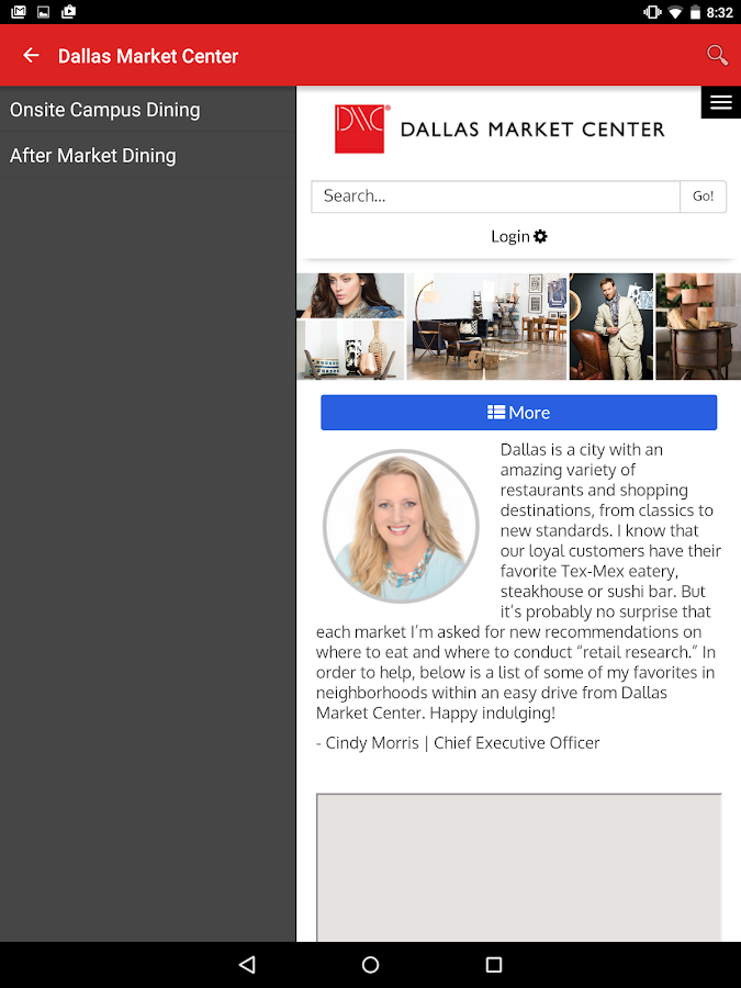 Dallas Market Center- screenshot