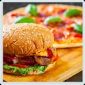 Pizza and Hamburgers Recipes! Free! icon