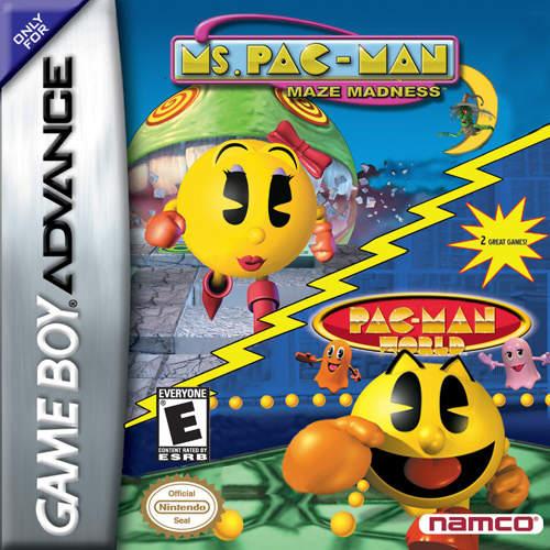 Rooms de Game Boy Advance Pacman