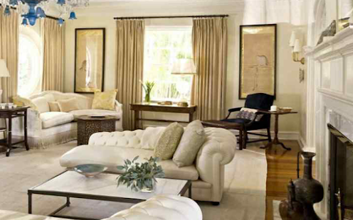 Traditional Ruang Tamu Sofa Lakaran Kecil Tangkapan Skrin