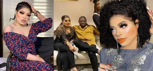 Bobrisky Spotted Throwing Herself At A Man Begging Him To Ask Him Out [Photos]