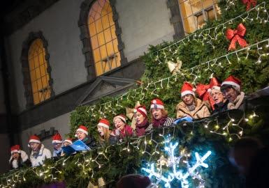 Singing Christmas Tree Palace Square
