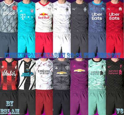 PES 2017 Kitpack Combination 2020/2021