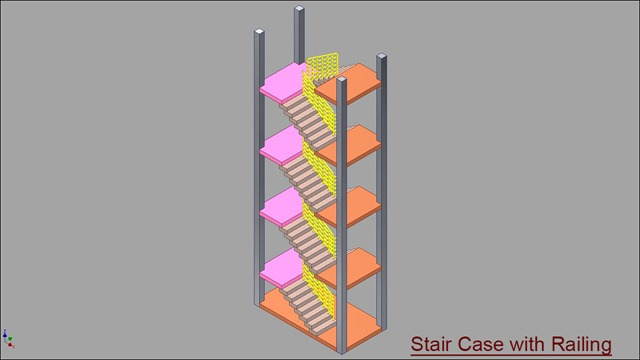 Double Fold Stair Case with Railing.jpg_3