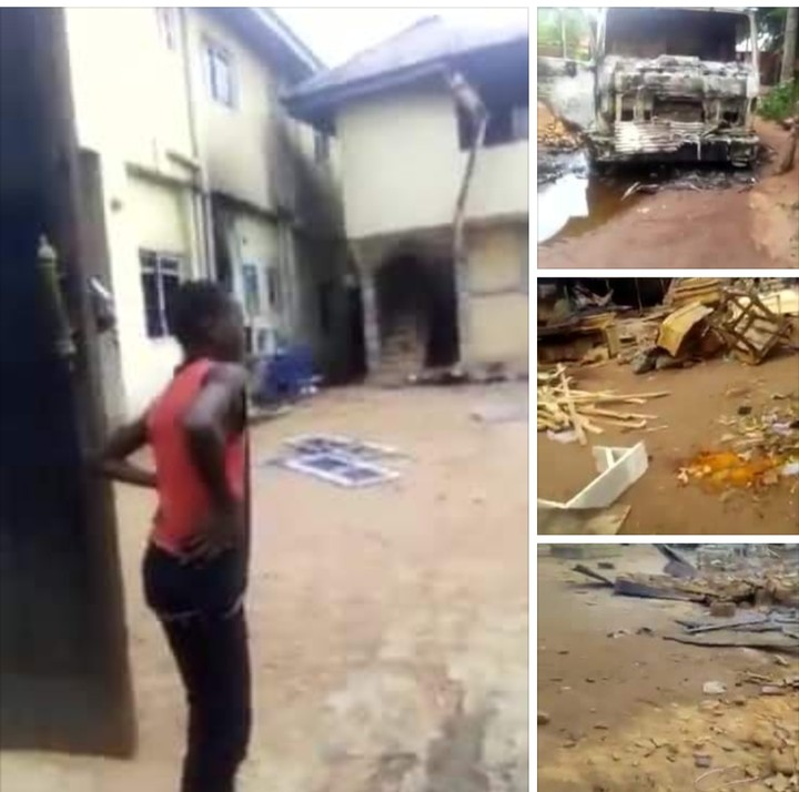 Chinonso Uba's Ezeacho Hotel, House, Shops Burnt In Imo, 2 Feared Killed