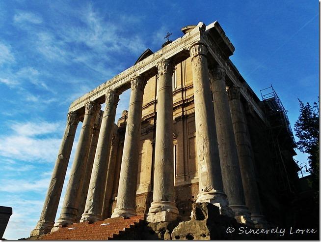 Temple of Antoninus and Faustina, Roman Forum, Rome