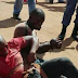 Photo: Two Men Beaten To Pulp For Trying To Steal A Toyota Avanza
