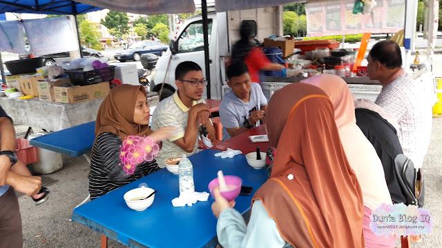 Layan Cendol Pulut Durian Dekat Masjid Mitc Melaka