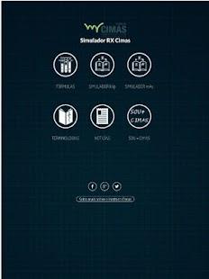 Simulador RX Cimas screenshot