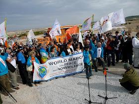 Marcha Mundial Por la PAX llega a Parque Toledo. 15/11/2009