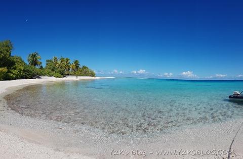 Una delle tante spiaggette di Toau