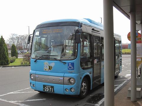 千歳市循環型コミュニティバス「ビーバス」Bコース専用車両(千歳相互バス)