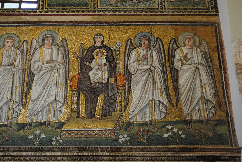 My Photos: Italy -- Mosaics -- Ravenna -- Basilica di San Apollinare Nuovo