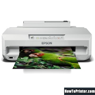 Reset Epson XP-55 printer Waste Ink Pads Counter