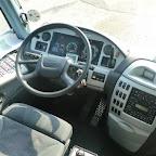 het Dashboard van de Scania Irizar van Coach Group Holland bus 284