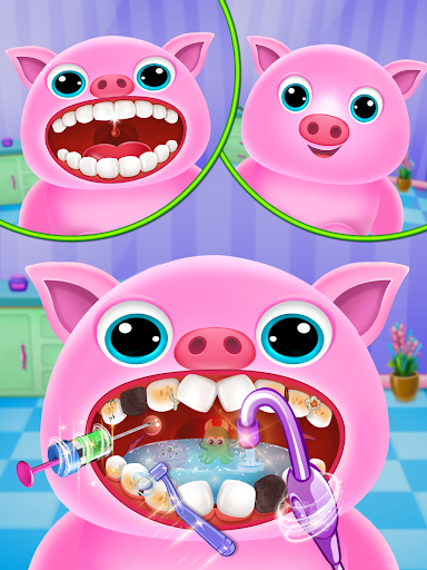 Little Unicorn Pet Doctor Dentist apktram screenshots 7