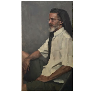 Contemporary Oil Portrait Painting