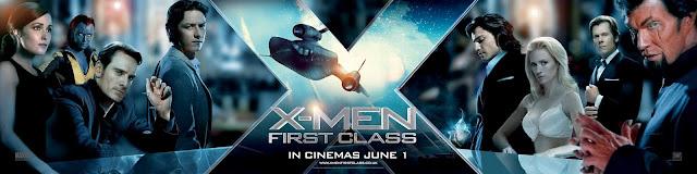 """Bannière du film """"X-Men Le Commencement"""""""