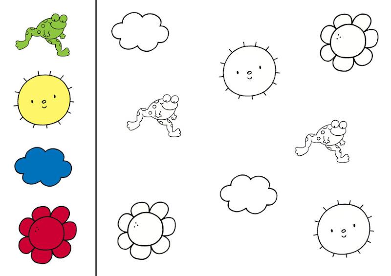 kleurplaten thema kleuren