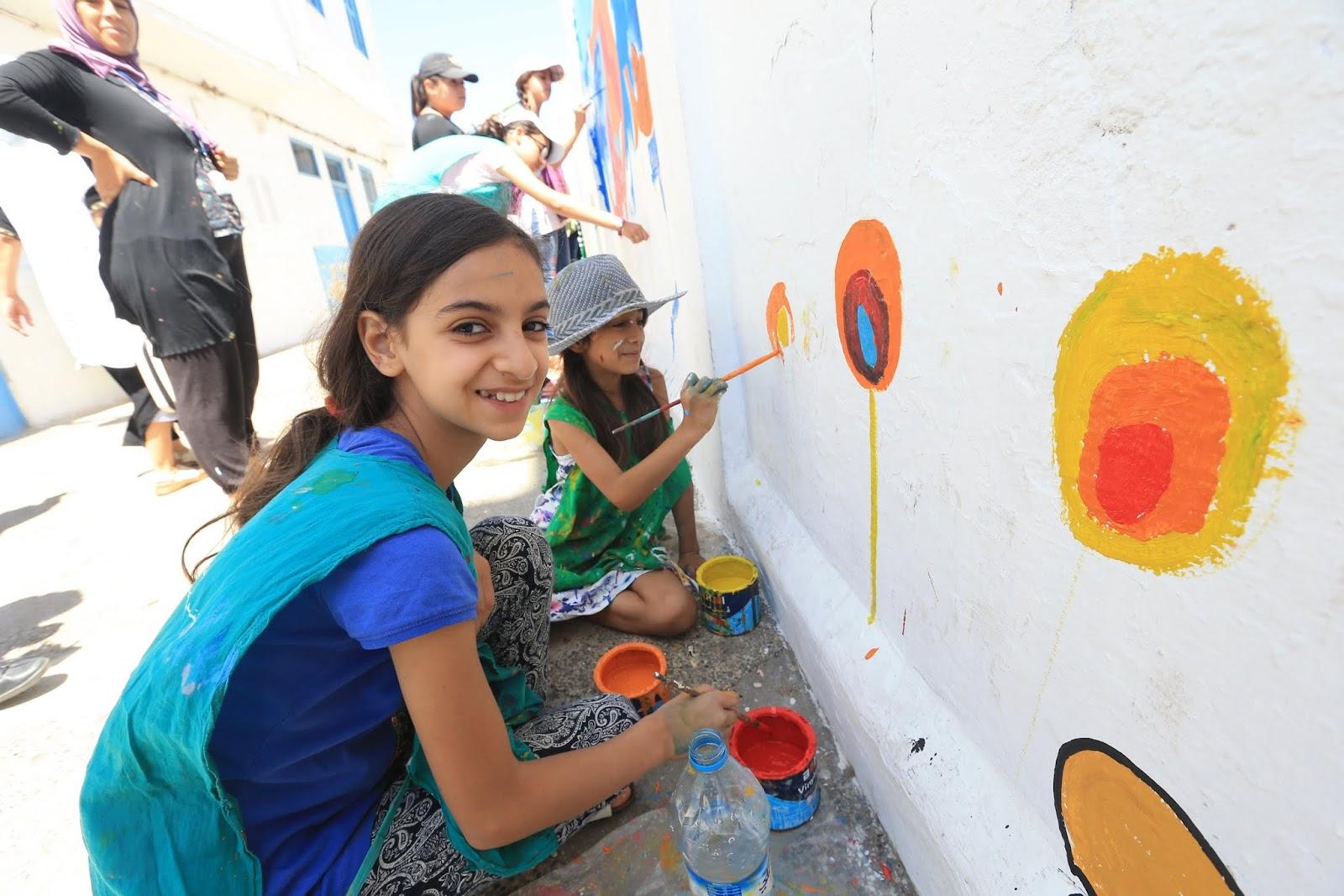 2017-7-22 مشغل و جدارية الاطفال