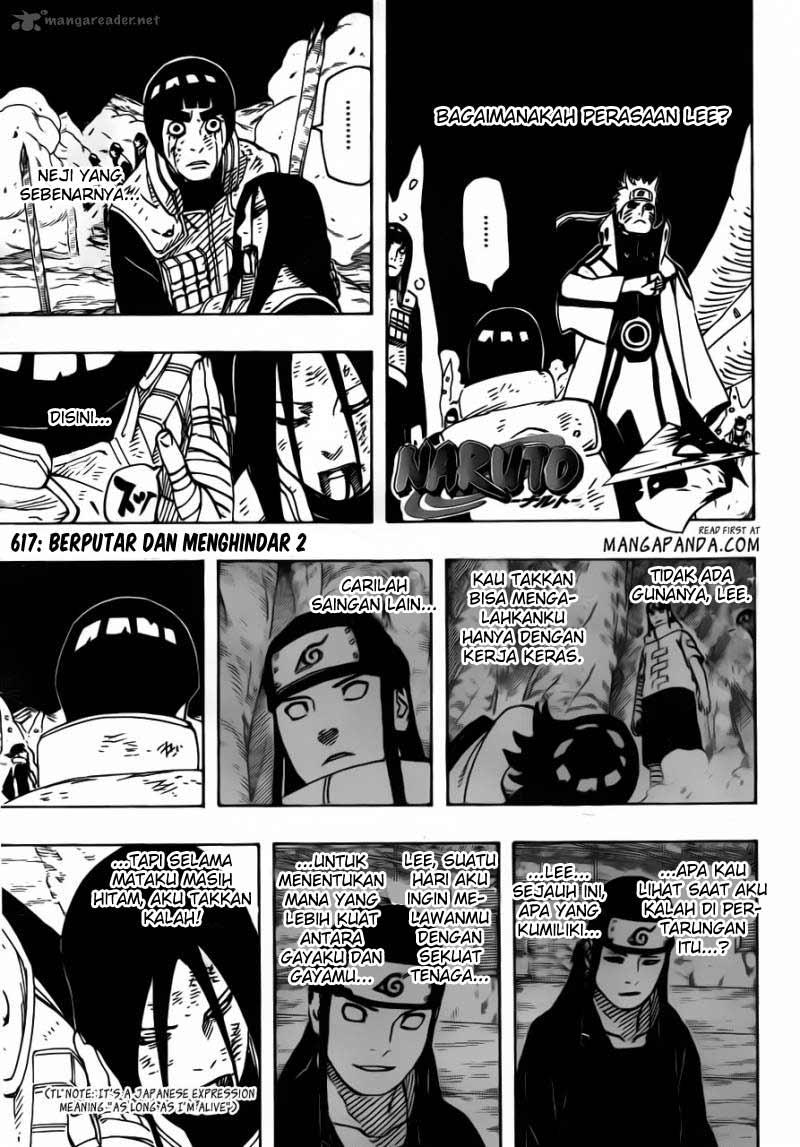 naruto 617 03 Naruto 617   Berputar dan Menghindar 2