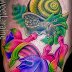 snail - tattoos ideas