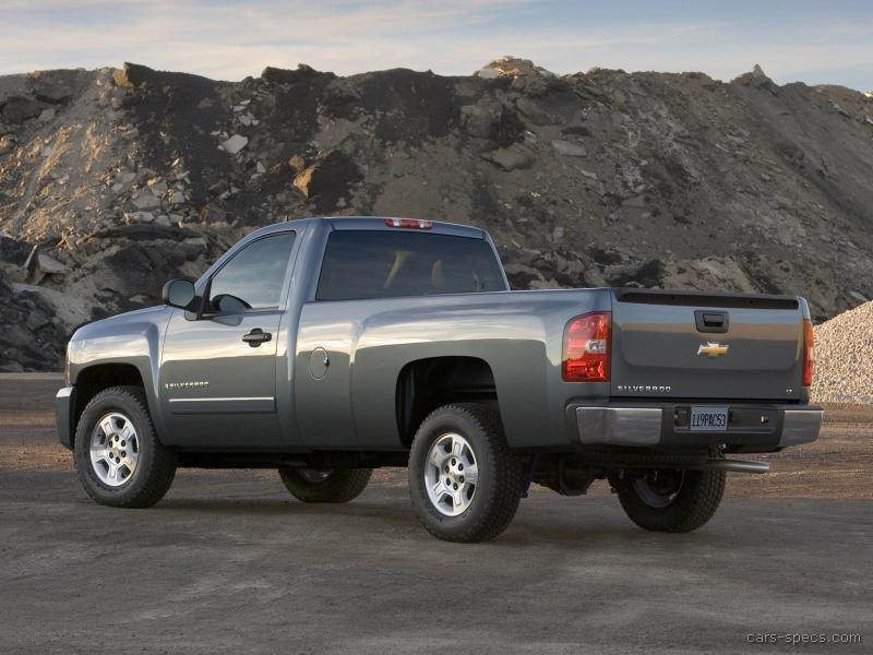 2007 chevrolet silverado 2500hd regular cab specifications pictures prices. Black Bedroom Furniture Sets. Home Design Ideas