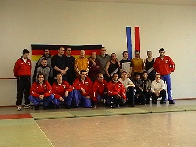 Freundschaftswett- kampf gegen das französiche Nationalteam 2003 - IMGA0143.JPG