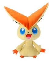 Pokemon Plush Victini large size Tomy