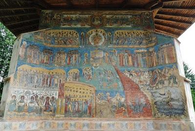 Kloster Voronet, das Jüngste Gericht