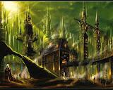 Horror Landscape Of Dream