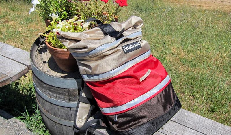 Tri-Colored Cornucopia Bag