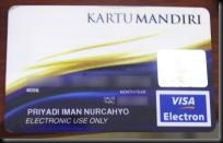 mandiri visa electron