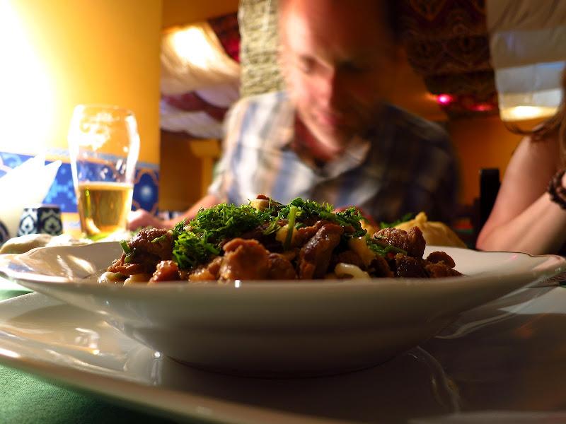 Uzbeki food
