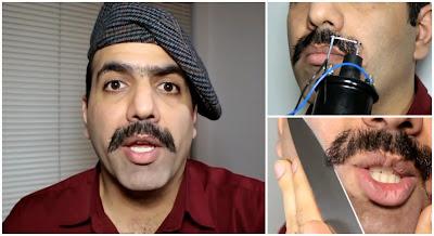 Como cortar o bigode Like A Boss
