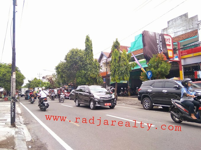 Ruko Ruang Usaha strategis 2 Lantai Kawasan Premium Pusat Kota Timur Malioboro Jogja