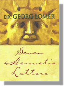 Cover of Georg Lomer's Book Seven Hermetic Letters