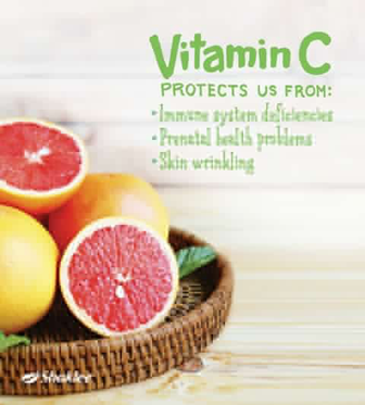 vitamin c shaklee kuatkan imun