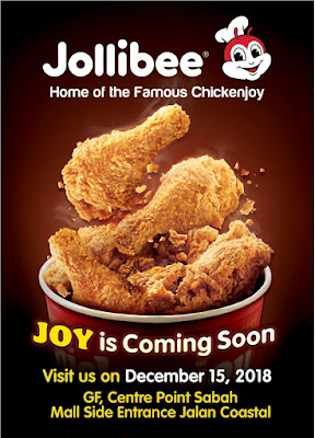 Jollibee  Home of the famous Chickenjoy is now in Kota Kinabalu Sabah