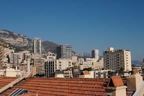 Apartment buildings in Monaco