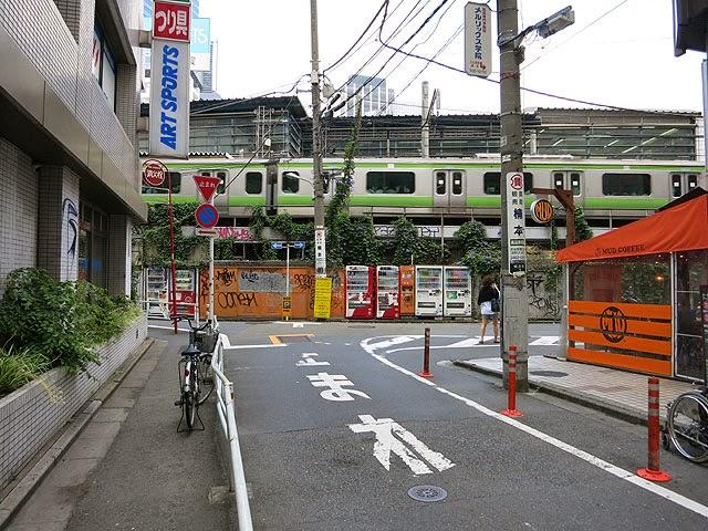 渋谷から恵比寿方面に抜ける道