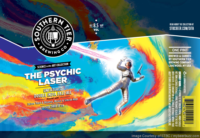 The Psychic Laser Coming To Southern Tier Science Is The Art Collection